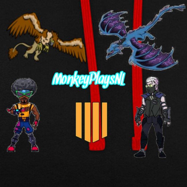 Het echte MonkeyPlaysNL Merch Shop