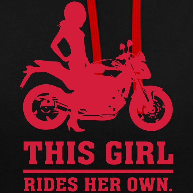 This Girl rides her own - Naked bike