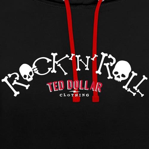 Rock n Roll - Sweat-shirt contraste