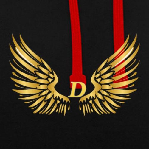 D GOLD B - Contrast hoodie