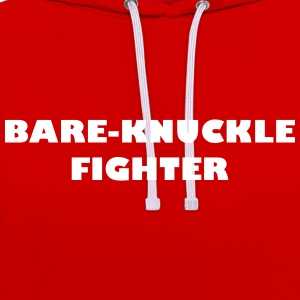 Bare-Knuckle Fighter - Sweat-shirt contraste