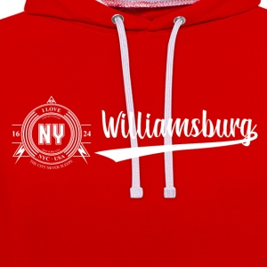 New York City · Williamsburg - Contrast Colour Hoodie