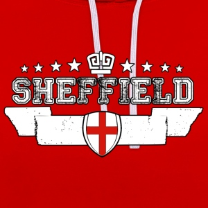 Sheffield - Sweat-shirt contraste