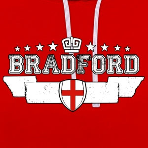 Bradford - Contrast Colour Hoodie