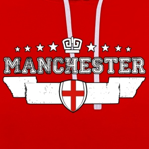 Manchester - Contrast hoodie