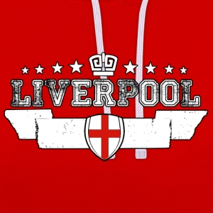 Liverpool - Sweat-shirt contraste