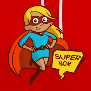 super maman - Sweat-shirt contraste