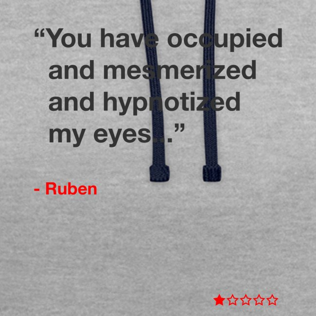 Mesmerized by Ruben