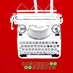 TYPEWRITER_2 - Sweat-shirt contraste