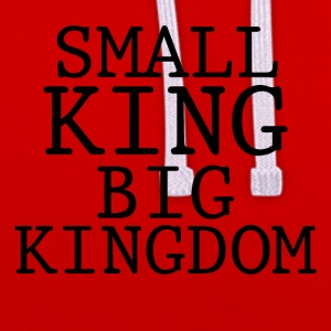SMALL KING BIG KINGDOM - Contrast Colour Hoodie