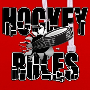 Hockey Rules - Contrast Colour Hoodie