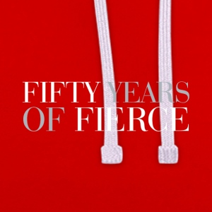 50th birthday: Fifty years of fierce - Contrast Colour Hoodie