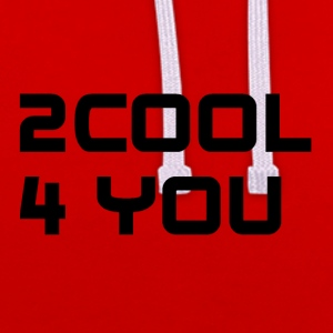 2COOL4YOU - Kontrast-hettegenser