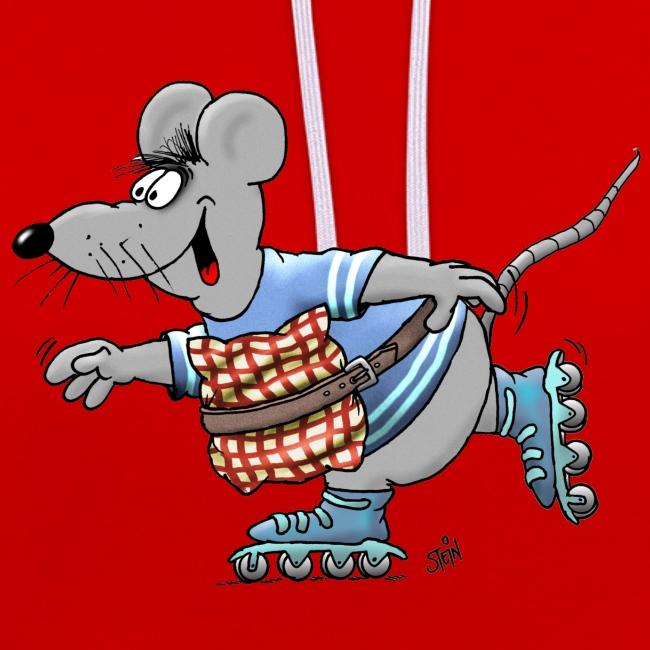 Uli Stein Skater-Maus