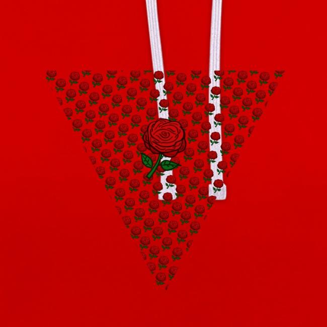 Dreieck Rose