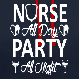 Party Nurse - Kontrastluvtröja