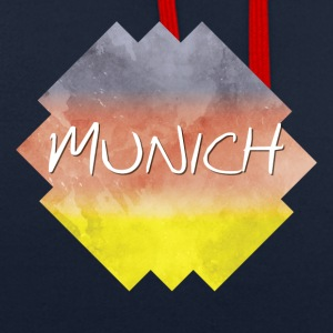 Munich - Munich - Sweat-shirt contraste