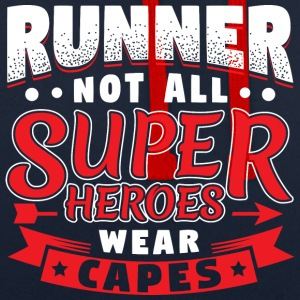 NOT ALL SUPERHEROES WEAR CAPES - RUNNER - Kontrast-Hoodie