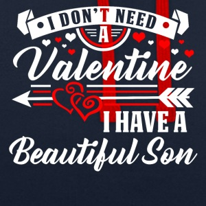 Valentine's Day - Son T-shirt and hoodie - Contrast Colour Hoodie