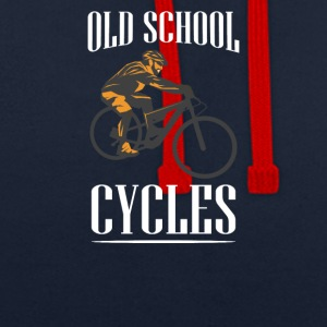 OLDSCHOOL CYCLISME - Sweat-shirt contraste