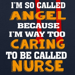 Angel Caring Nurse - Contrast Colour Hoodie