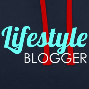 Lifestyle blogger - Contrast hoodie