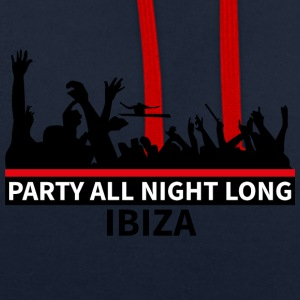 IBIZA - Party All Night Long - Sweat-shirt contraste