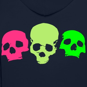 skulls-on-parade - Contrast Colour Hoodie