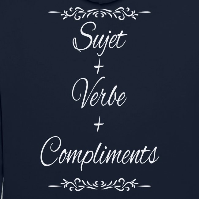 Sujet+verbe+compliments