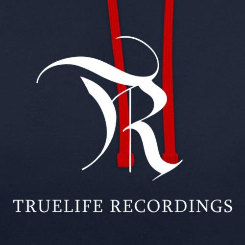 TrueLife Logo - Sudadera con capucha en contraste
