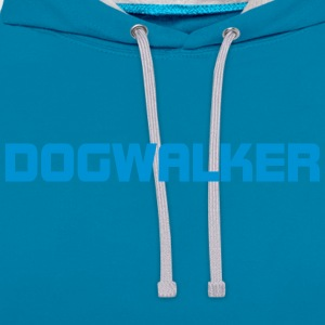 Dog Walkers - Contrast Colour Hoodie