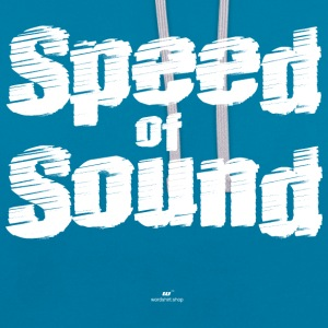 Speed ​​of Sound - Contrast hoodie