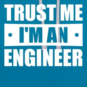 Trust me I'm an engineer - Contrast Colour Hoodie