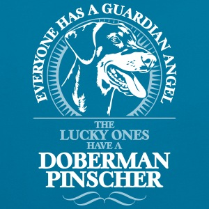 GUARDIAN ANGEL DOBERMAN PINSCHER - Contrast Colour Hoodie
