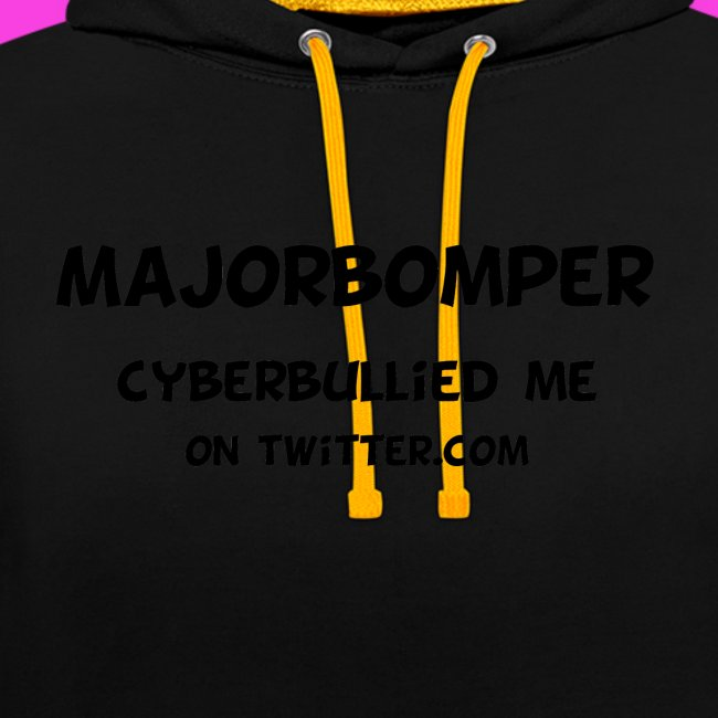 Majorbomper Cyberbullied Me On Twitter.com