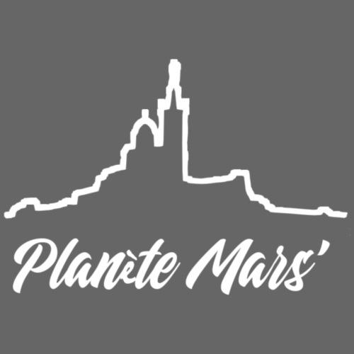 Planète Mars' - Sweat-shirt contraste