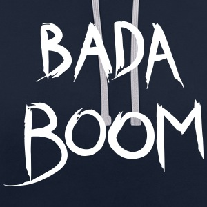 bada boom - Sweat-shirt contraste