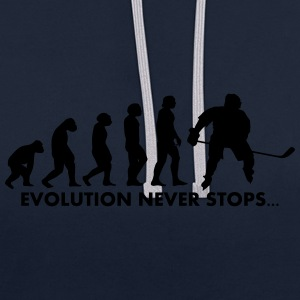 Evolution ne cesse - Sweat-shirt contraste