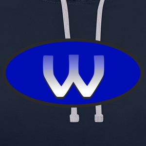 w - Sweat-shirt contraste