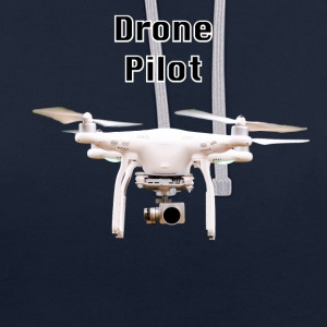 pilote drone - Sweat-shirt contraste