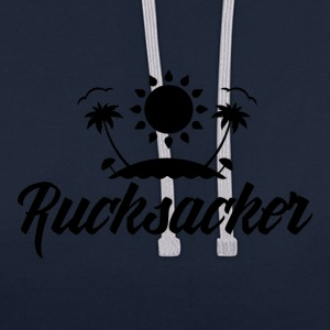 Rucksacker - Backpacker - Sweat-shirt contraste