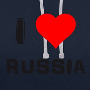 L'amour russe - Sweat-shirt contraste