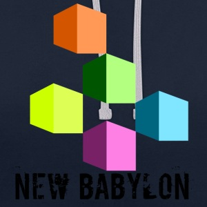 New Babylon - Contrast Colour Hoodie