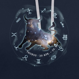 taurus Taurus horoscope astrology zodiac birth - Contrast Colour Hoodie