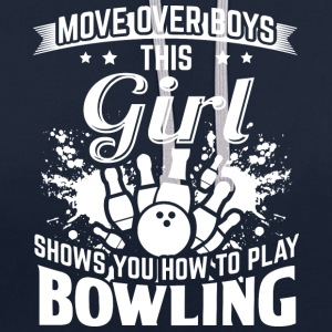 bowling MOVE OVER boys - Kontrast-Hoodie