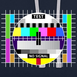 Testbild Display screen test card signal Big Bang - Kontrast-Hoodie