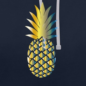 ananas Colorful - Sweat-shirt contraste