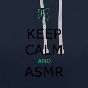 Keep Calm and ASMR - Kontrast-hettegenser