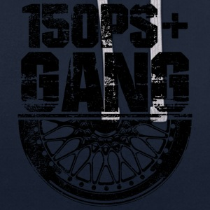 150 PS Gang Black - Contrast Colour Hoodie