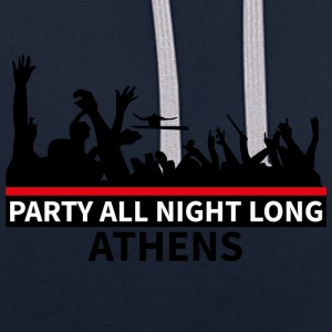 ATHENS - Party All Night Long - Sweat-shirt contraste